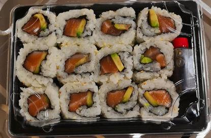 Picture of Sushi Saumon, boite de 12 Pièces