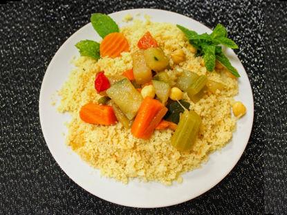 Picture of bouillonde couscous ET VIANDE (2 part bouillon + semoule + viande)